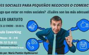 Taller Redes Sociales para pequeños comercios o negocios