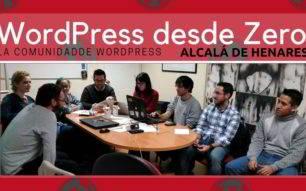 MeetUp WordPress Alcalá creciendo día a día