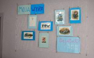 Las paredes de la Ínsula ya lucen con las obras de Bejata Jagielo