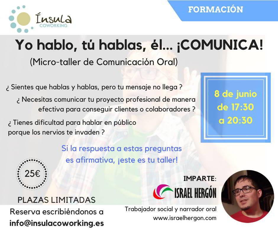 Taller comunicación oral
