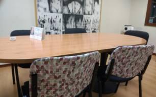 Tenemos una reunión con un cliente: ¿dónde quedamos?