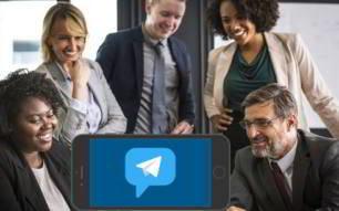 Posibilidades para tu empresa con Telegram (app)