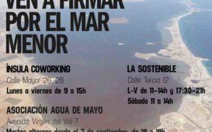 El Mar Menor necesita nuestra ayuda-ILP